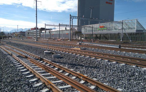 CFF-4ème voie Lausanne – Renens